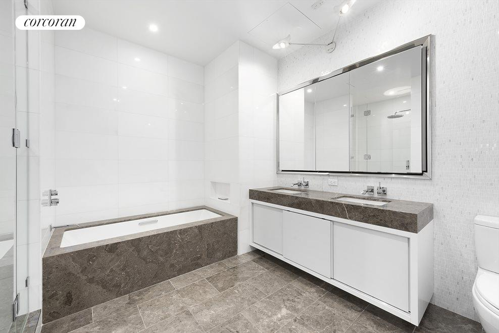 New York City Real Estate | View 15 HUBERT ST, #PHC | Master Bathroom