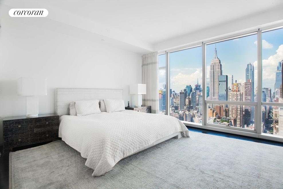 New York City Real Estate | View 23 East 22nd Street, #48th Floor | Master Bedroom