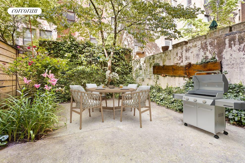 New York City Real Estate | View 263 West 90th Street | Garden