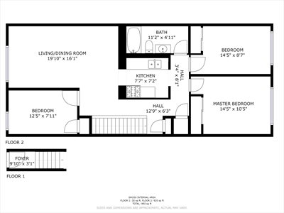 New York City Real Estate | View 152A Saratoga Avenue, #2 | Floorplan