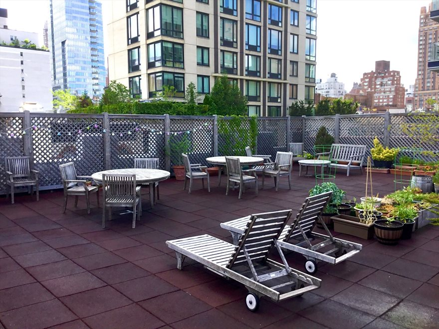 New York City Real Estate | View 315 East 77th Street, #4G | Landscaped Roof Deck
