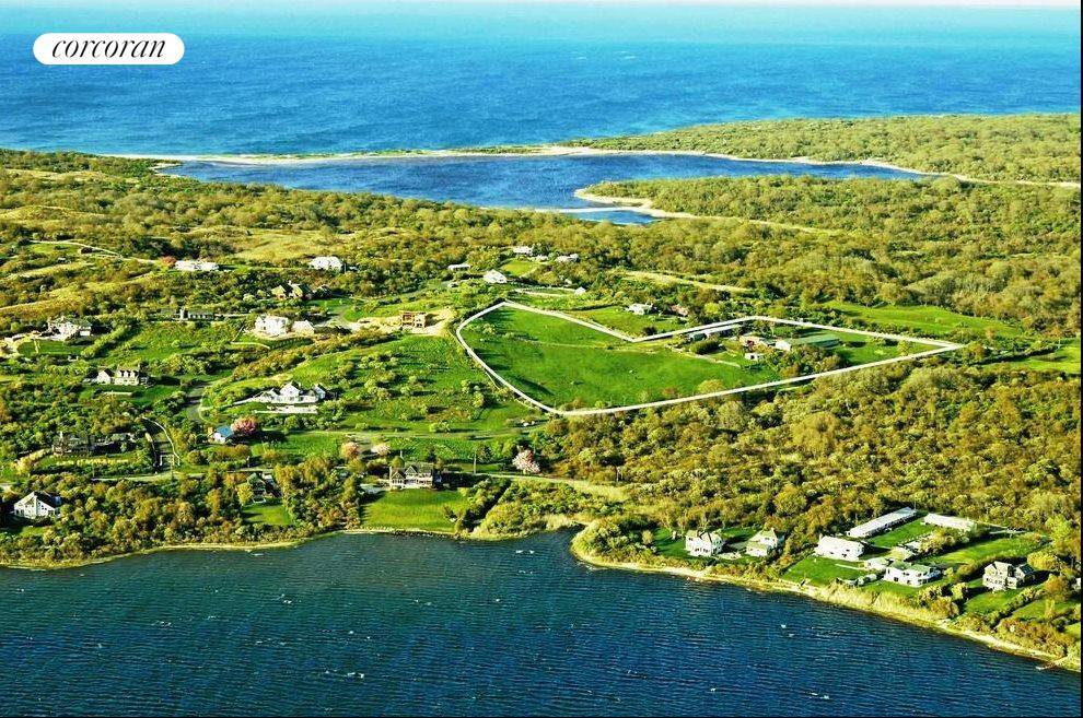 The Hamptons Real Estate | View 107 and 101 Startop Drive South | aerial of Startop Ranch