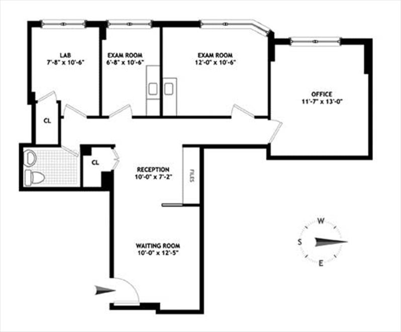 New York City Real Estate | View 114 East 72nd Street, #1D | Floorplan