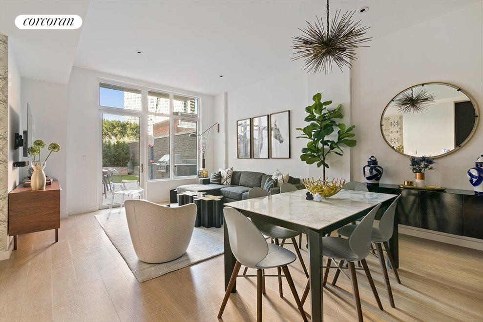 New York City Real Estate | View 509 Pacific Street, #3A | Large Space for Dining