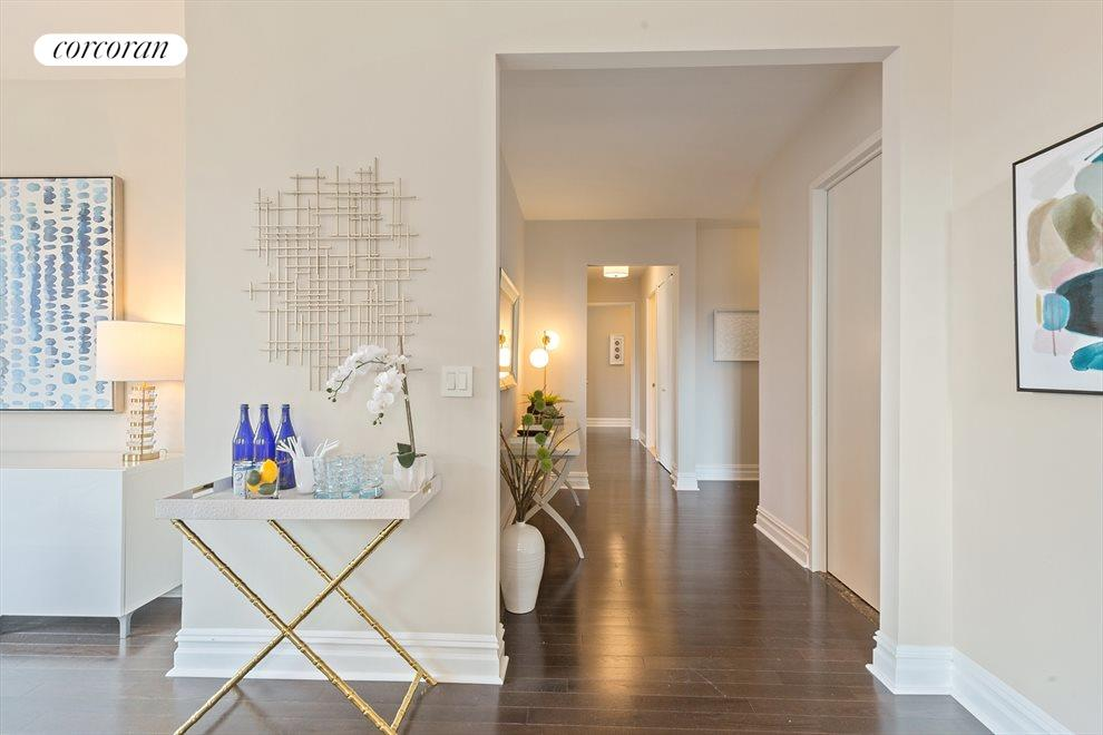 New York City Real Estate | View 2 Columbus Avenue, #8A | Foyer / Gallery