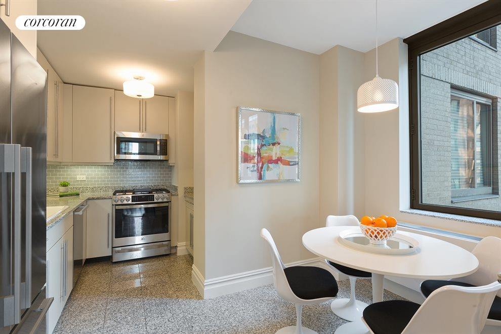 New York City Real Estate | View 2 Columbus Avenue, #8A | Kitchen