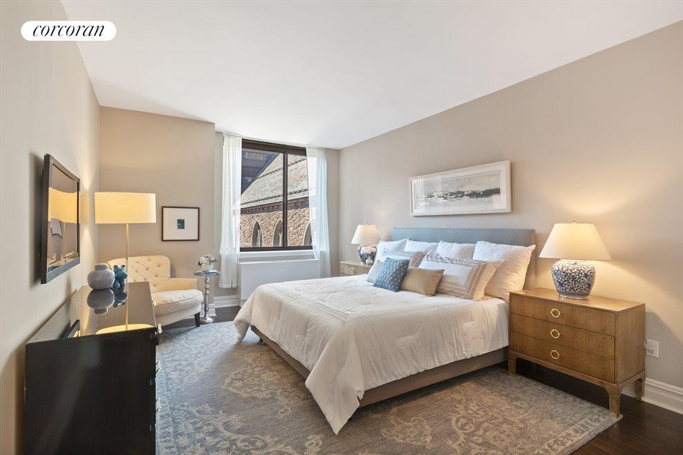 New York City Real Estate | View 2 Columbus Avenue, #8A | Master Bedroom