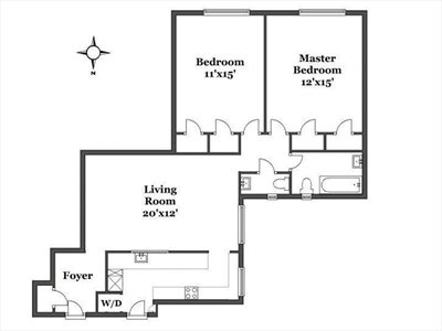 New York City Real Estate | View 107 West 86th Street, #8A | Floorplan