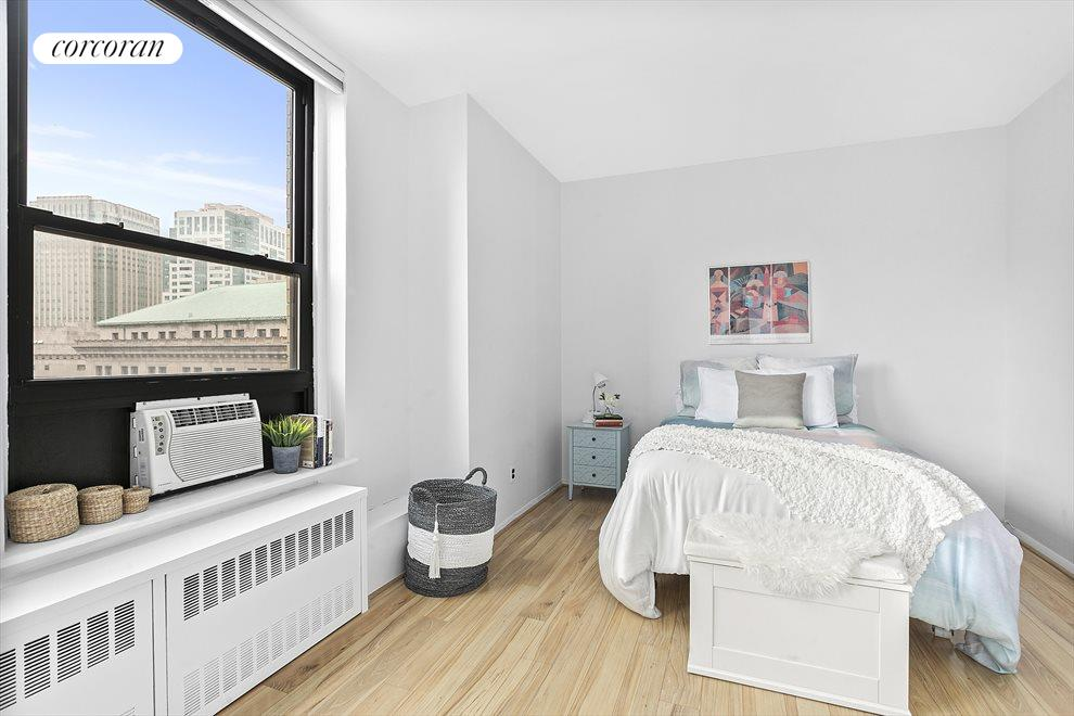 New York City Real Estate | View 75 Livingston Street, #13A | Sunny second bedroom