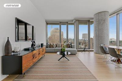 New York City Real Estate | View 56 LEONARD ST, #25A EAST | Huge concrete columns in rooms