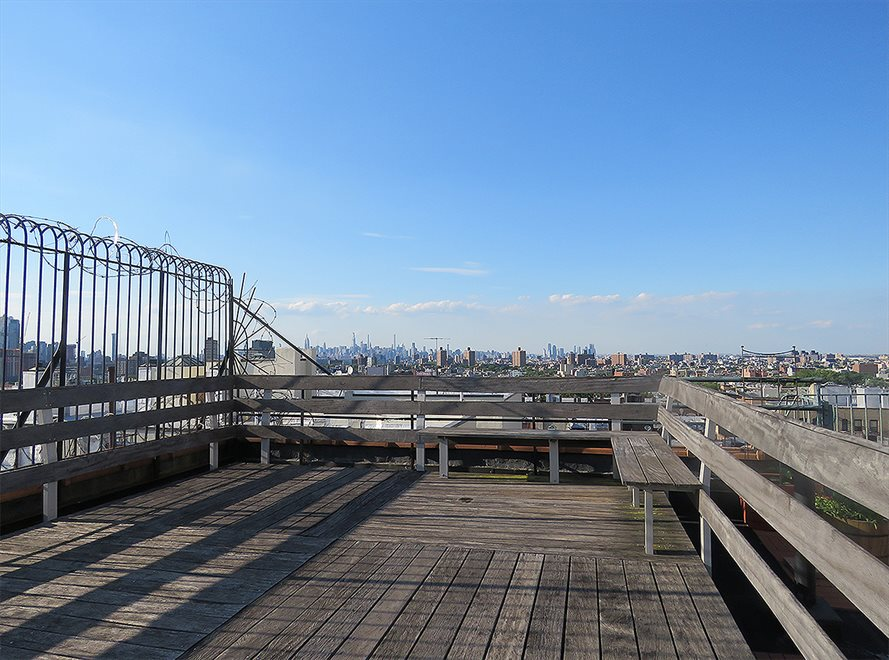 New York City Real Estate | View 115 Eastern Parkway, #6B | View from the shared roof deck