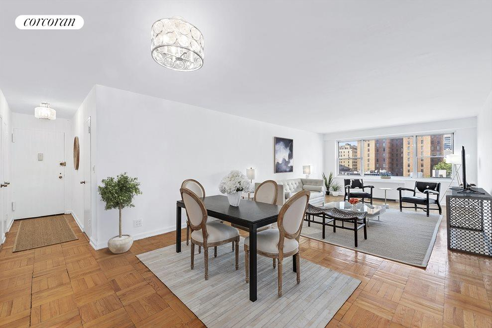 New York City Real Estate | View 150 East 61st Street, #9H | Oversized Great Room