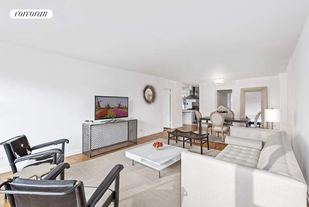 New York City Real Estate | View 150 East 61st Street, #9H | Great Room ~ Alternate View