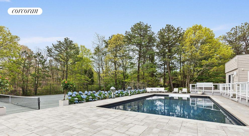 The Hamptons Real Estate | View 4 Honeysuckle Lane | Saltwater Pool with New Liner