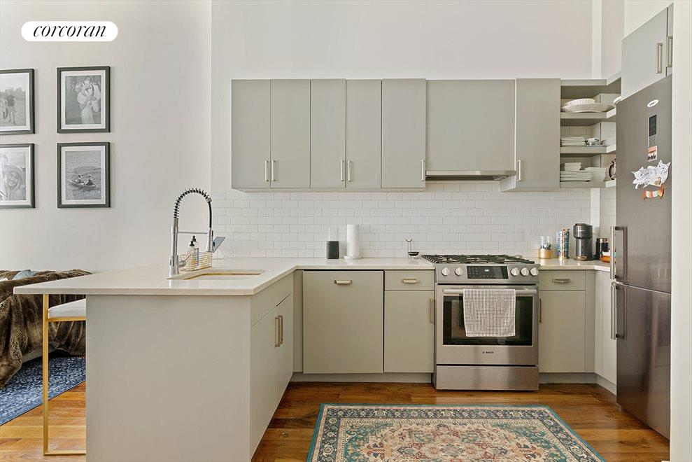 New York City Real Estate | View 127 South 1st Street | Rental Unit Kitchen