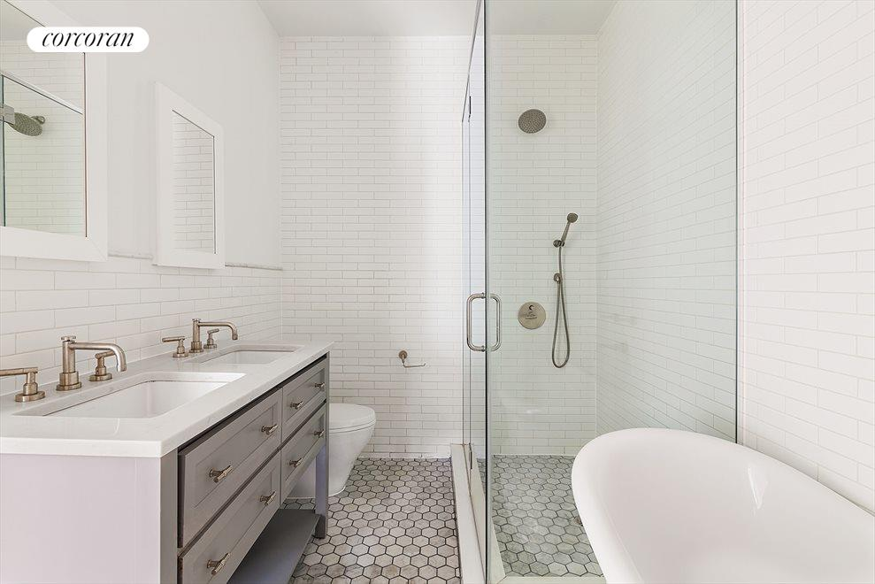 New York City Real Estate | View 127 South 1st Street | Luxurious Master Bathroom