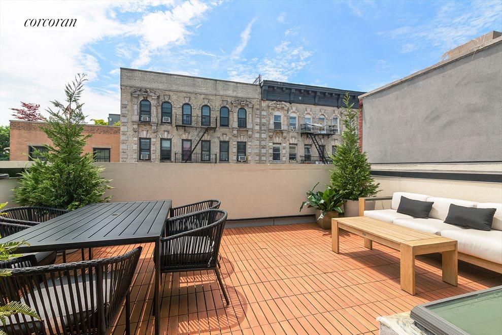 New York City Real Estate | View 127 South 1st Street | Large Private Roofdeck