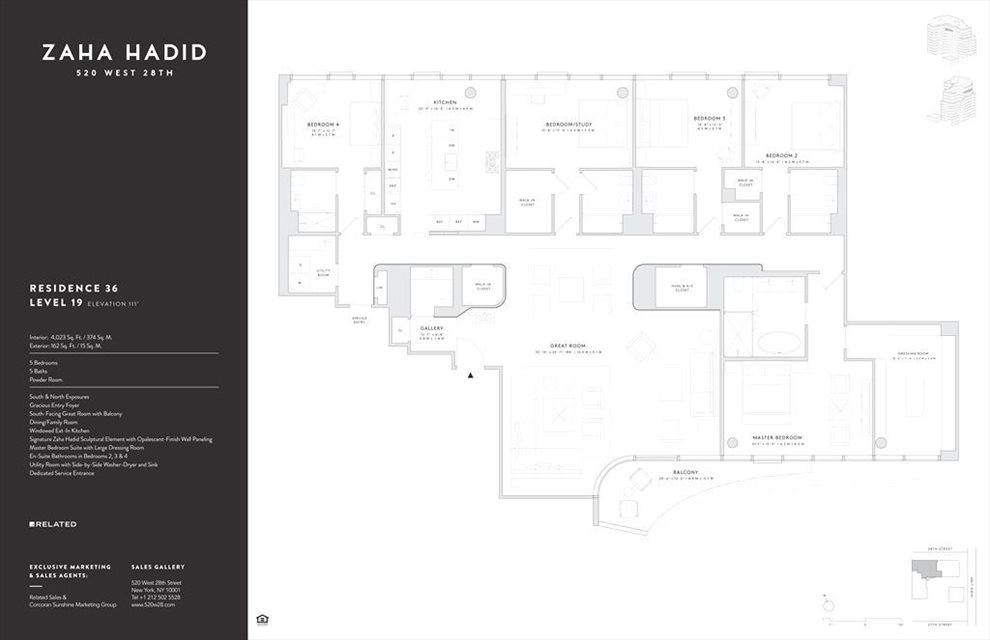 New York City Real Estate | View 520 West 28th Street, #36 | Floorplan