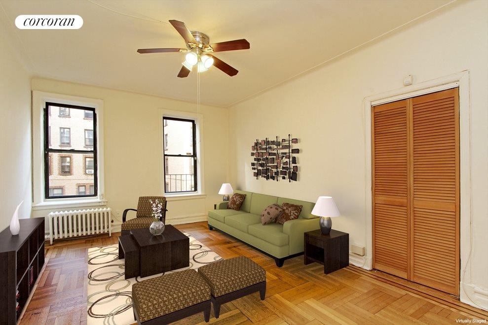 New York City Real Estate | View 80 Winthrop Street, #R2 | plenty of space for living and bedroom!