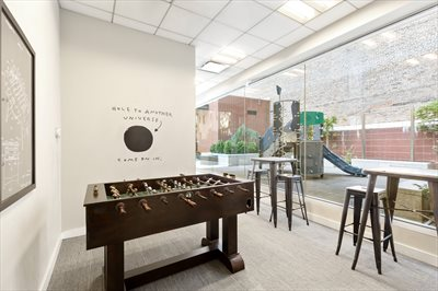 New York City Real Estate | View 245 West 99th Street, #28A | Game Room