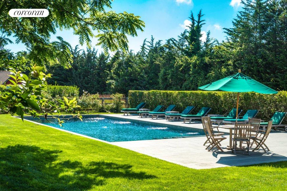 The Hamptons Real Estate | View 75 South Main Street | Gunite Pool