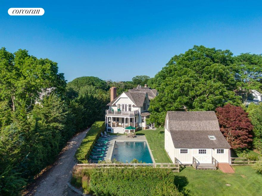 The Hamptons Real Estate | View 75 South Main Street | House & Guest House