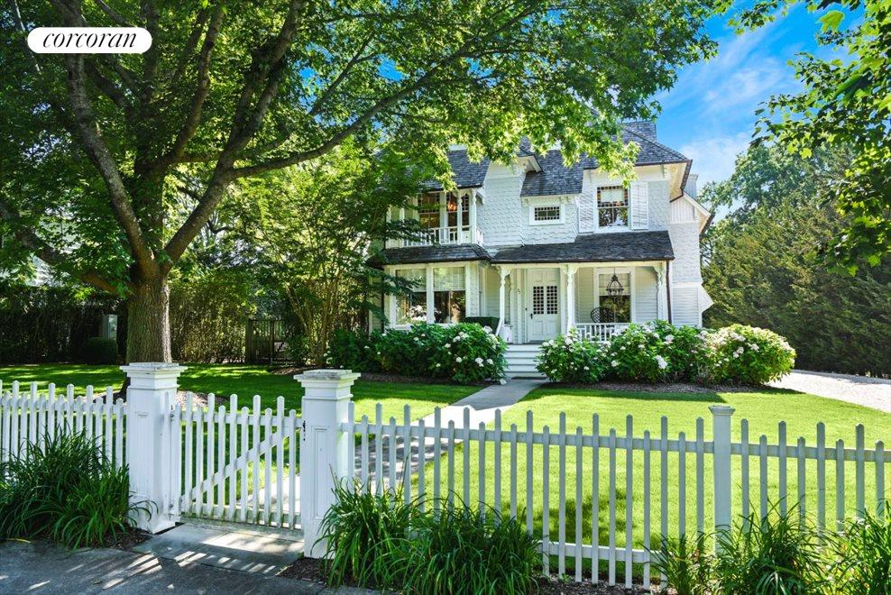 The Hamptons Real Estate | View 75 South Main Street | Circa 1880 Quaint Home
