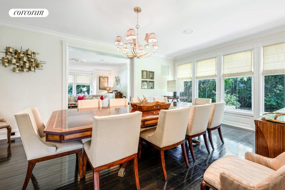 The Hamptons Real Estate | View 75 South Main Street | Formal Dining