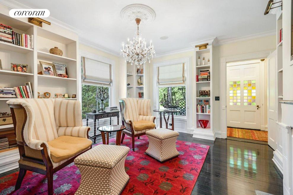 The Hamptons Real Estate | View 75 South Main Street | Library