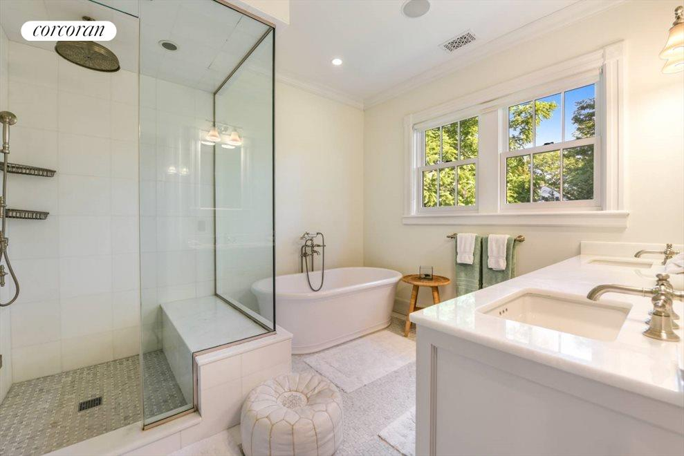 The Hamptons Real Estate | View 75 South Main Street | Master Bath
