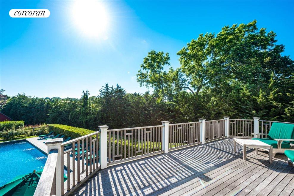 The Hamptons Real Estate | View 75 South Main Street | Master Deck with Views