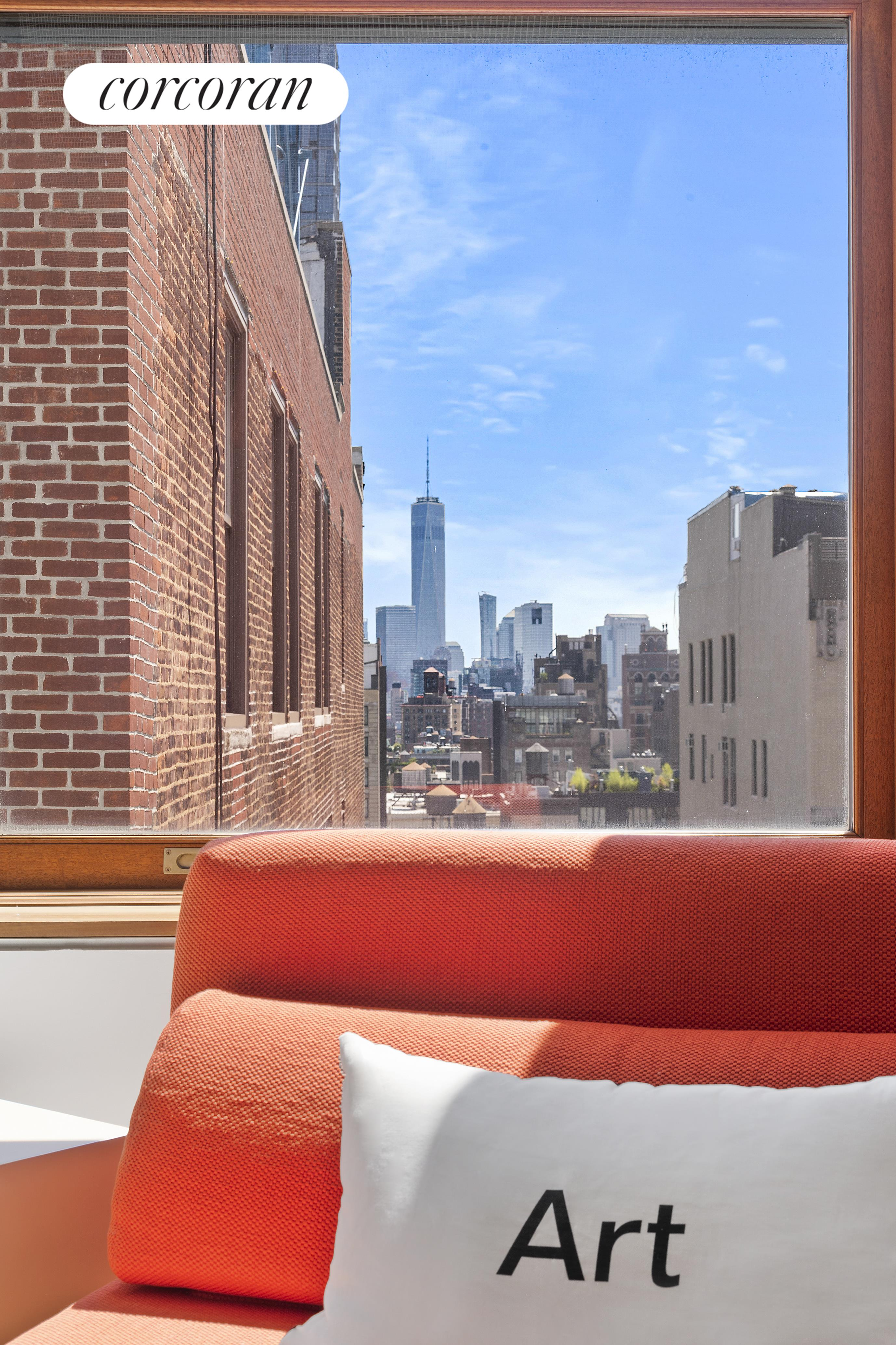 """Privacy, Views and Endless Living Space at an Unbeatable Price!!!!   During this most unique time in New York City real estate, seldom does an opportunity like this arise to purchase a remarkable PH loft at a substantially reduced and currently, below-market price. This property was originally offered for $20million, listed at $15million and now available $9,995,000. This price represents less than $1300 per square foot, based on total interior and exterior square feet. In addition, the monthly costs of common charges and real estate taxes are less than $2.50 per square foot based on interior square footage only!    At 50% off of the original price, this is the best priced condominium PH available in New York City!    This full-floor, key-locked elevator loft at 32 West 18th Street is a combination of two penthouse apartments,12A and 12B.    The massive open living space boasts a well-appointed kitchen, oversized great room with two gas fireplaces, dining room, home office, den, a separate secluded play room and five bedrooms featuring en-suite bathrooms and an additional half-bath. A huge laundry room and significant additional storage round out this home's fabulous features.  Outstanding views are one of the extraordinary features of this home. There are both North and South walls of windows with expansive, astonishing city views. Northern views display a spectacular vista of important NYC landmarks including the Empire State Building and The Chrysler Building and as a bonus, dazzling sunsets reflect off of Hudson Yards. Southern views are also brilliant, featuring the Freedom Tower, the """"Jenga"""" building and all of downtown Manhattan.  With endless entertaining areas and plentiful wall space throughout, this home offers so many opportunities. It has been referred to as """"An Art Lover's Dream"""" and the """"Ultimate Entertaining Mecca"""".  Relax on the two expansive, south-facing terraces. Take some time to step out on one of your exclusive terraces to enjoy a breath of fr"""