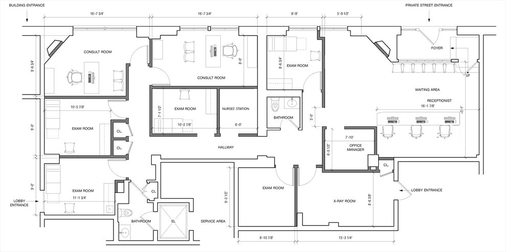 New York City Real Estate | View 130 East 67th Street, #1C | Floorplan