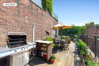 New York City Real Estate | View 30 Remsen Street, #3b | Private terrace with Grill!  facing south