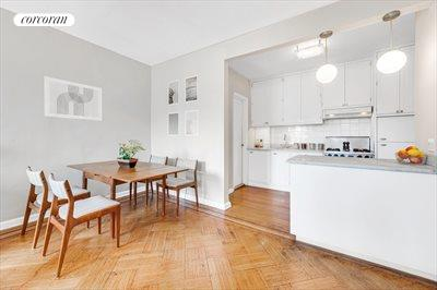 New York City Real Estate | View 30 Remsen Street, #3b | Dining area large enough for 6-8 !