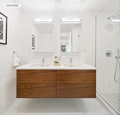 New York City Real Estate | View 356 Baltic Street, #1 | Master Bathroom