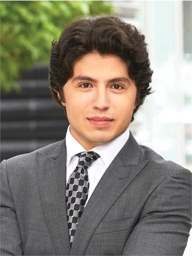 Zain Chamoun, a top realtor in New York City for Corcoran, a real estate firm in East Side.