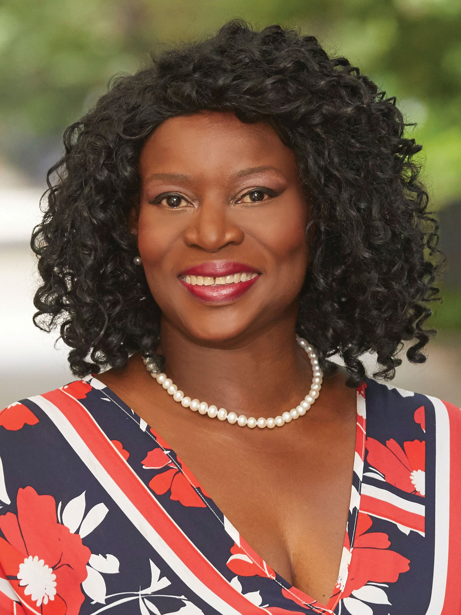 Sharon Burroughs-Clarke, a top realtor in New York City for Corcoran, a real estate firm in Fort Greene.