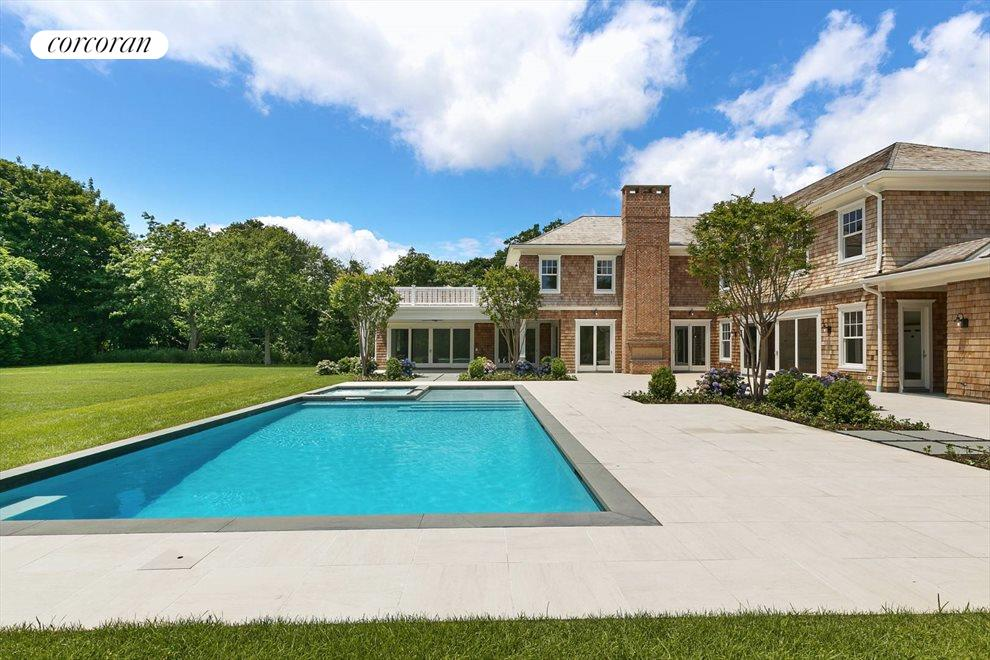 The Hamptons Real Estate | View 96 Leos Lane | Poolside