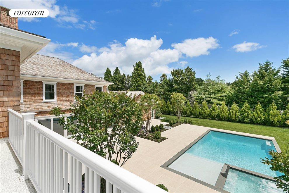 The Hamptons Real Estate | View 96 Leos Lane | Balcony View