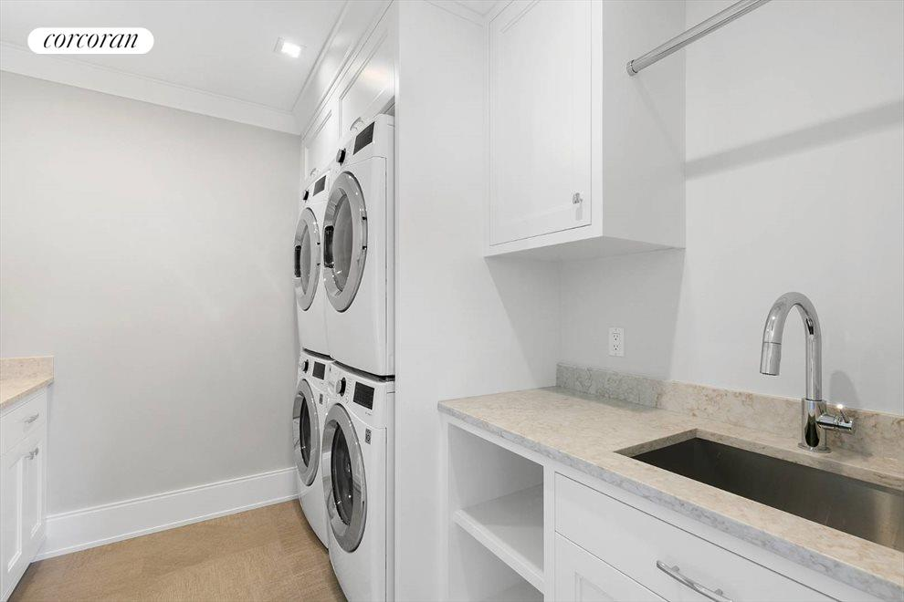 The Hamptons Real Estate | View 96 Leos Lane | 2nd Floor Laundry