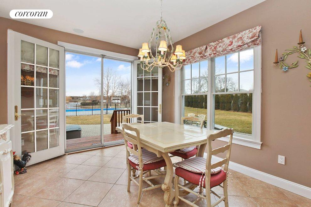 The Hamptons Real Estate | View 15 Parrish Pond Lane | Breakfast Room