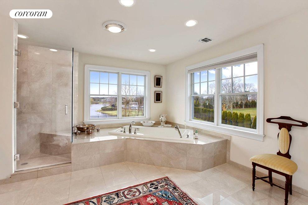 The Hamptons Real Estate | View 15 Parrish Pond Lane | Master Bath