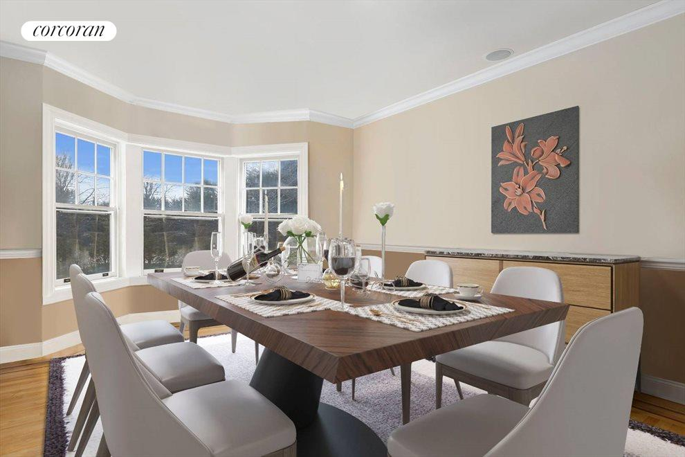 The Hamptons Real Estate | View 15 Parrish Pond Lane | Re-imagined Formal Dining