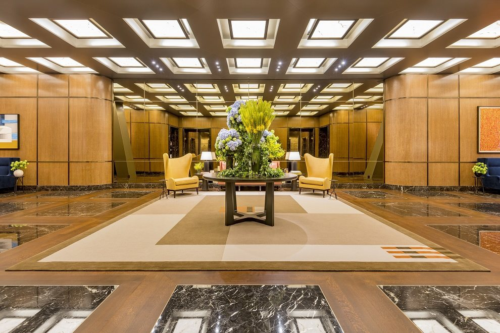 53 West 53 Apartment Building | View 53 West 53rd Street | Thierry Despont-designed lobby