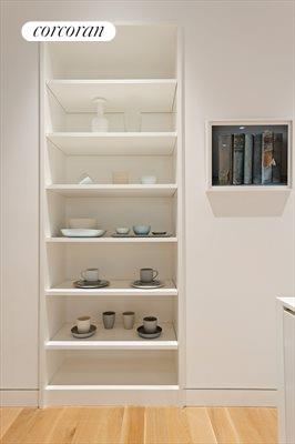 New York City Real Estate | View 29 Tompkins Place, #2 | Kitchen Shelving