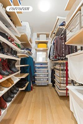 New York City Real Estate | View 29 Tompkins Place, #2 | Master BR Closet