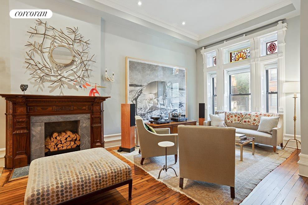 New York City Real Estate | View 105 West 122nd Street | Living room