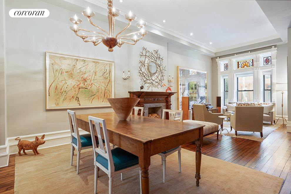 New York City Real Estate | View 105 West 122nd Street | Dining Room