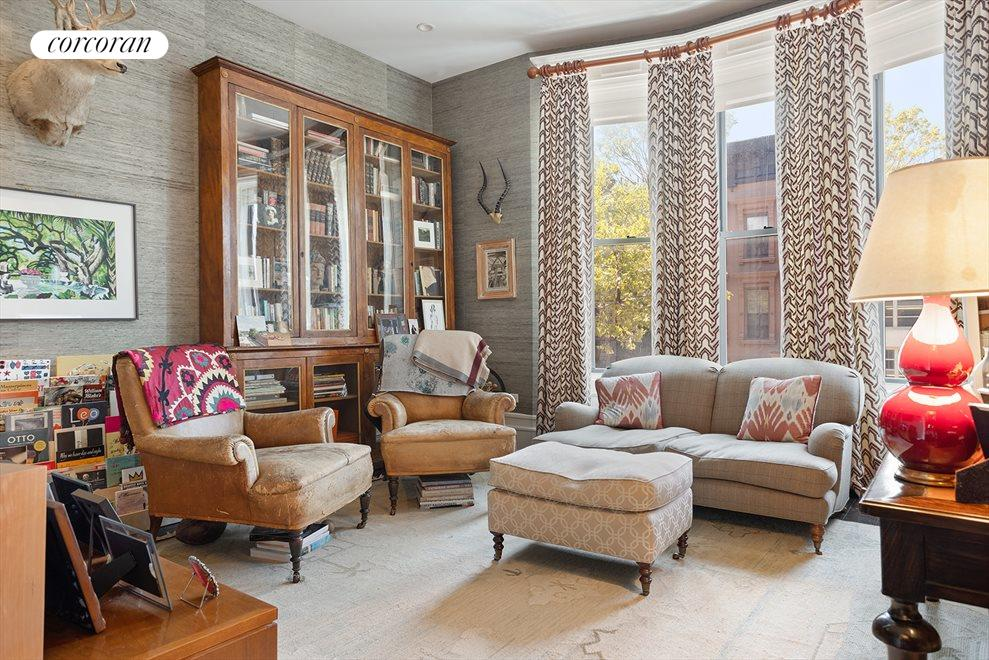 New York City Real Estate | View 105 West 122nd Street | Library/Home Office